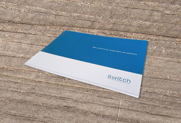 Brochure corporate- vue n°3 -Switch IT
