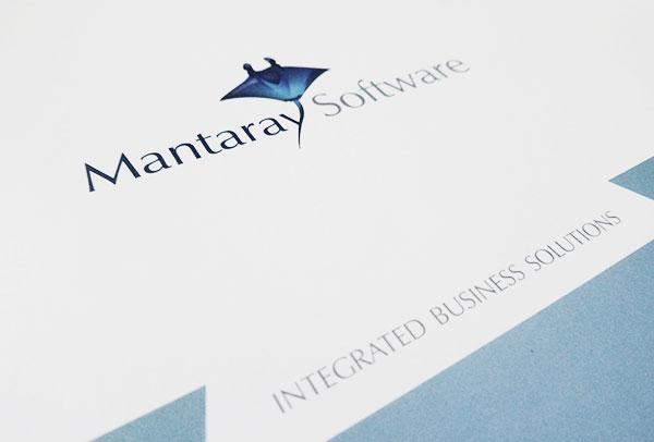 Pochette à rabats- vue n°1 -Mantaray Software