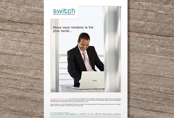 Annonce-presse- vue n°2 -Switch IT