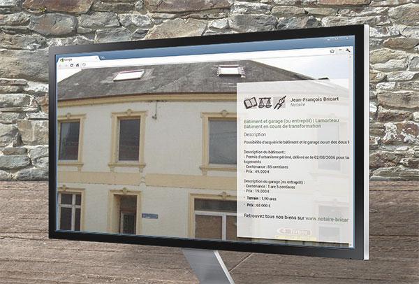 Site web et slideshow- vue n°5 -Notaire Bricart