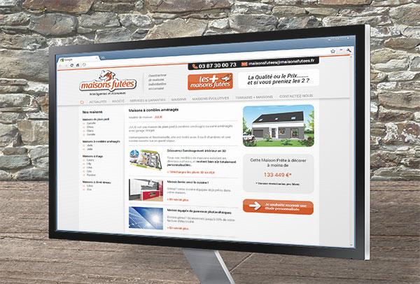 Site web- vue n°2 -Maisons Futées