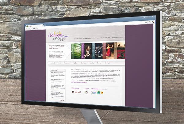 Site web- vue n°1 -Union de Woippy