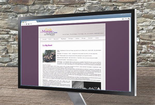Site web- vue n°2 -Union de Woippy