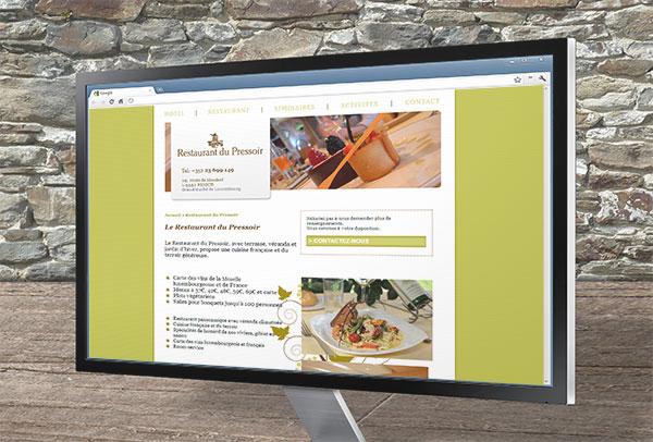 Site web- vue n°2 -Hôtel des Vignes