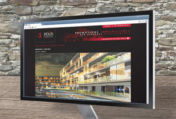 Site web- vue n°3 -Yous Real Estate