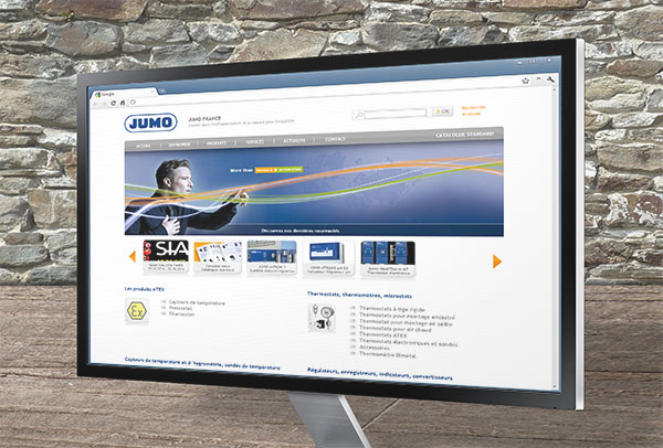 Site web- vue n°1 -Jumo