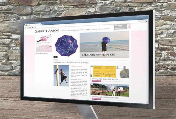 Site ecommerce- vue n°1 -Gabriele Anton