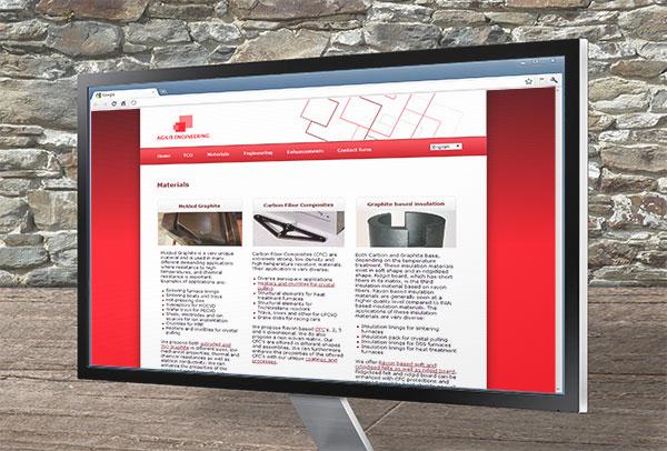 Site web- vue n°2 -Agilis Engineering