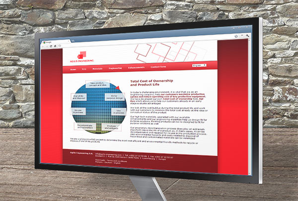 Site web- vue n°3 -Agilis Engineering